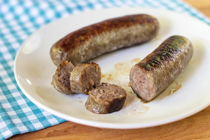 Pan Fried Bratwurst • The Kitchen Maus