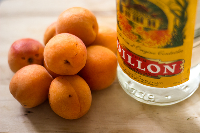 Small Apricot Rumtopf | The Kitchen Maus