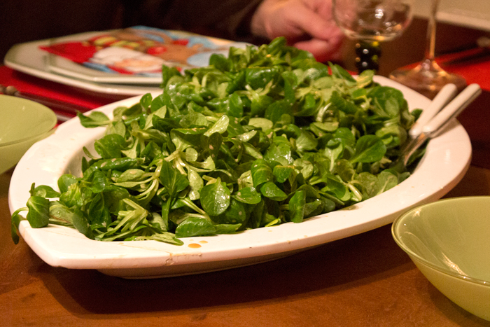 New Years Cooking Resolutions - Feldsalat