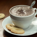 Dark Hot Chocolate (Zartbitter Heisse Schokolade) | The Kitchen Maus