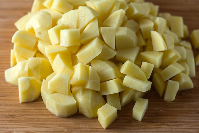 Classic German Potato Soup (Kartoffelsuppe) | The Kitchen Maus