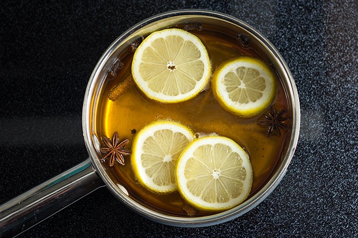 German Mulled Hard Cider (Glühmost) by the Kitchen Maus
