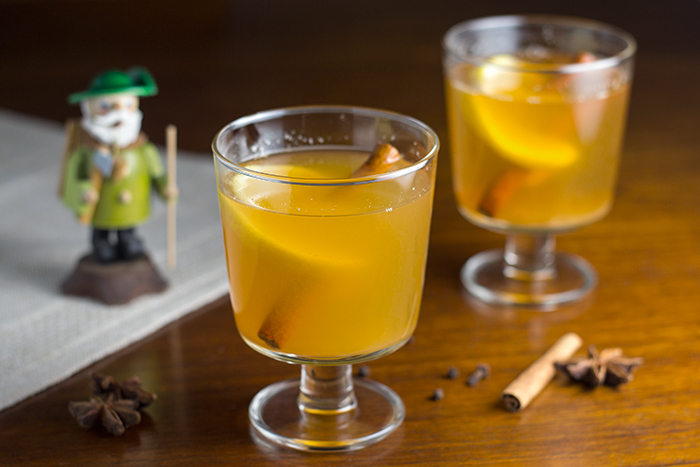 German Mulled Hard Cider