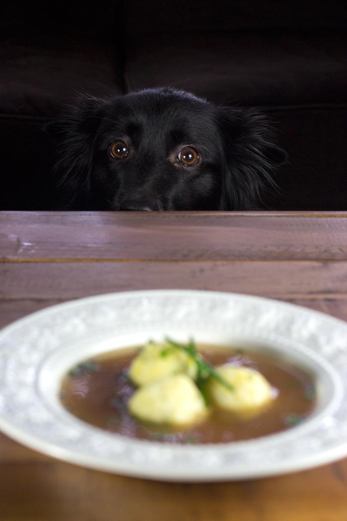 Semolina Dumpling Soup (Griessnockerlsuppe) | The Kitchen Maus