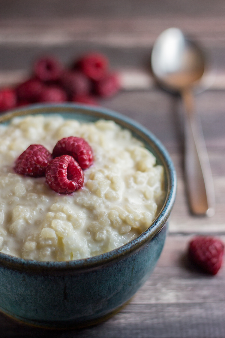 Simple Rice Pudding (Reisbrei) | The Kitchen Maus
