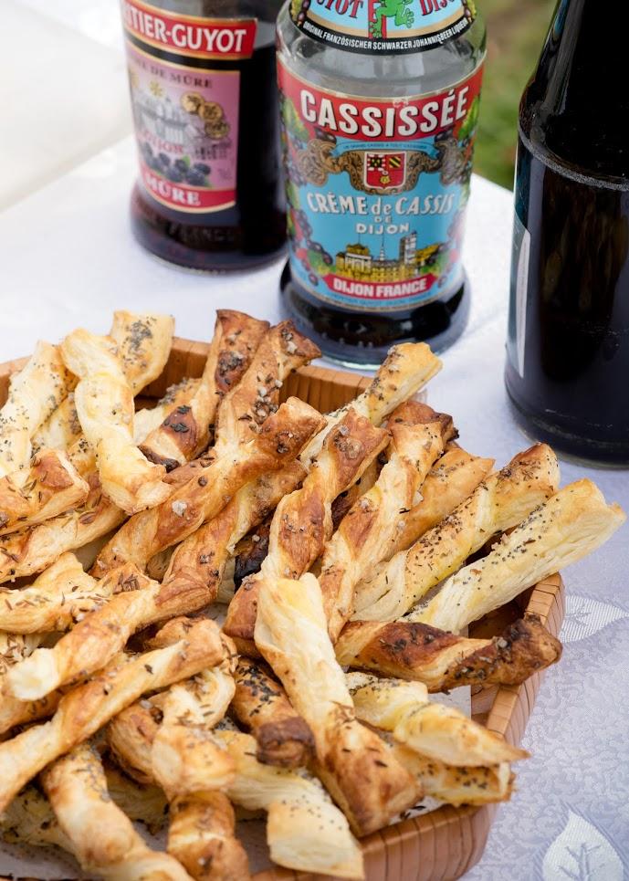 Puff Pastry Twists (Knusperstangen) | The Kitchen Maus