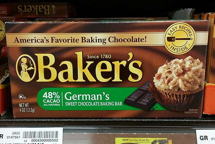 German Chocolate Cake is Not German