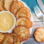 Potato Pancakes (Kartoffelpuffer) by the Kitchen Maus